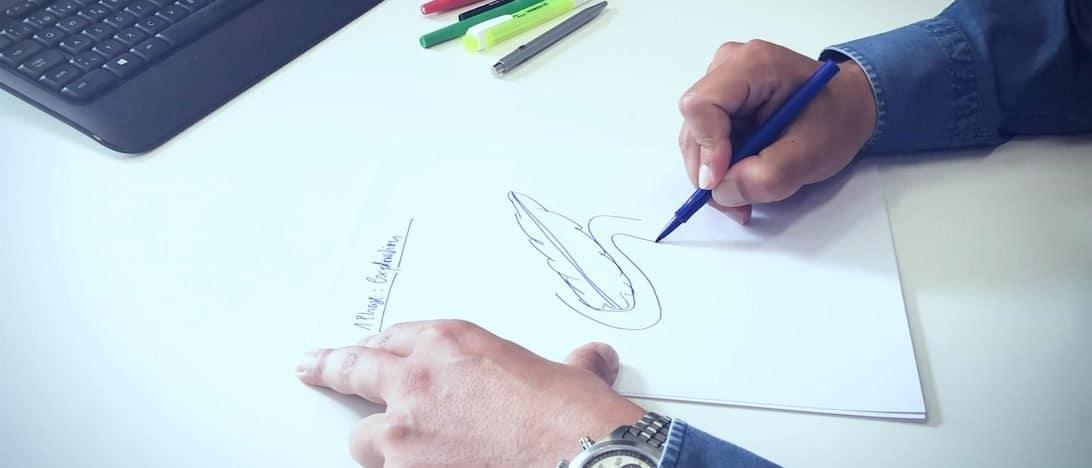 Zeichnung der Whipple-OP