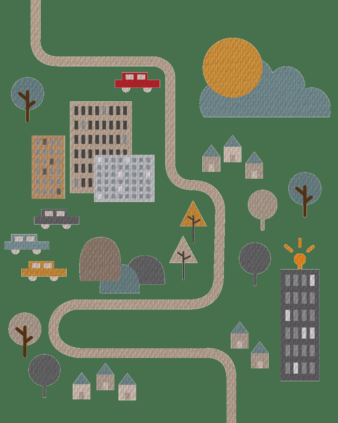 Patientenreise illustrativ veranschaulicht
